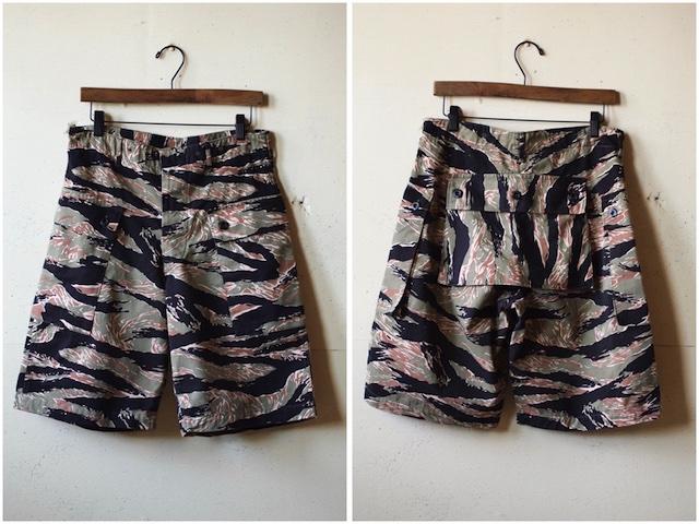 TCB jeans Crawling Shorts Tiger Camo-2