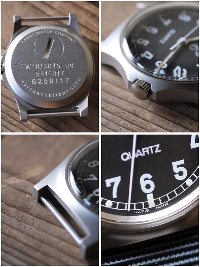CWC (Cabot Watch Company) G10 Military Watch-4