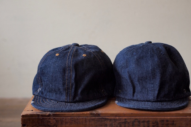 DECHO×Anachronorm Denim Ball Cap-2