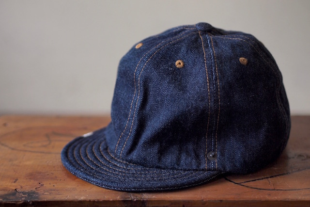 DECHO×Anachronorm Denim Ball Cap-3