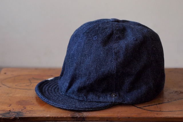 DECHO×Anachronorm Denim Ball Cap-4