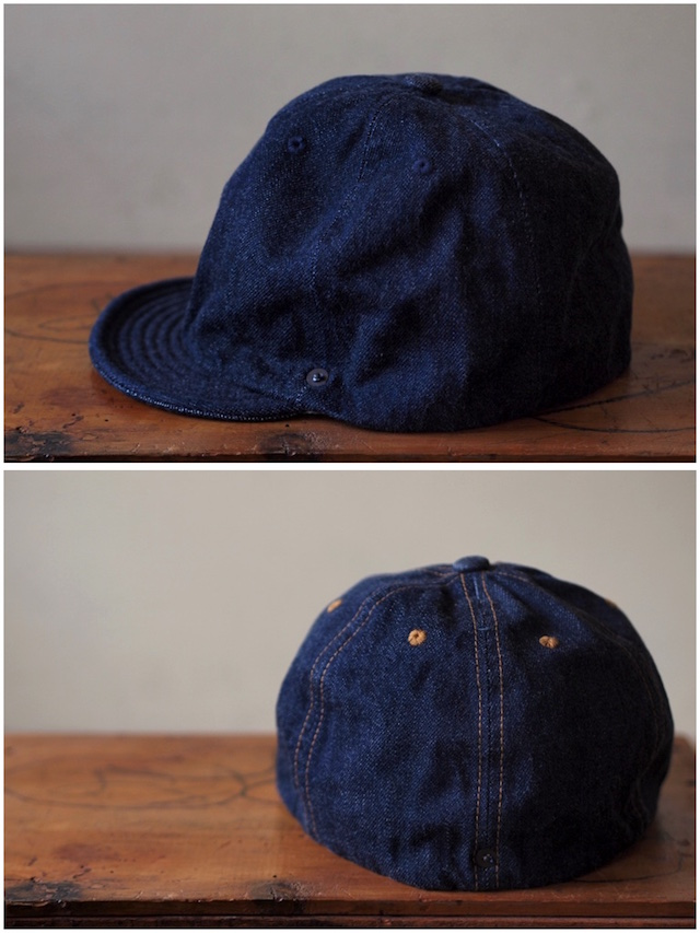 DECHO×Anachronorm Denim Ball Cap-5