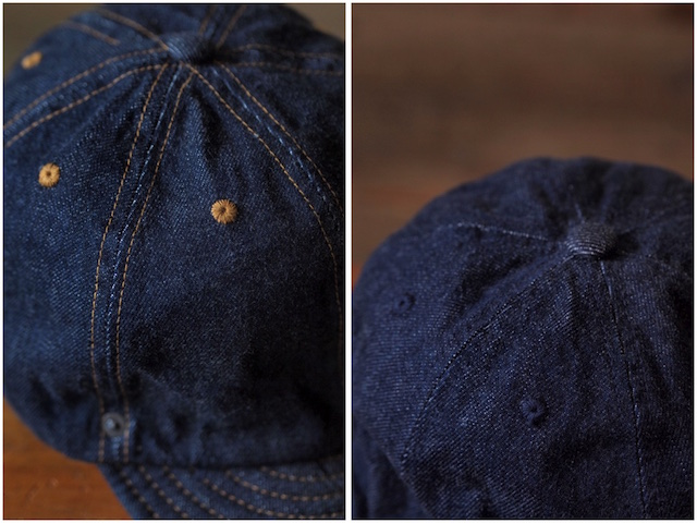 DECHO×Anachronorm Denim Ball Cap-6