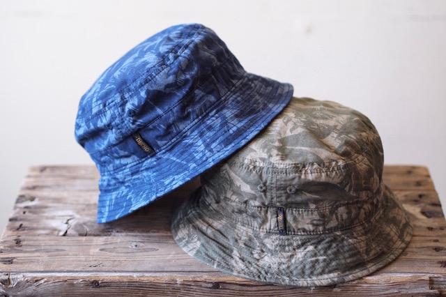 Decho Safari Bucket Hat Leaf Camo-2