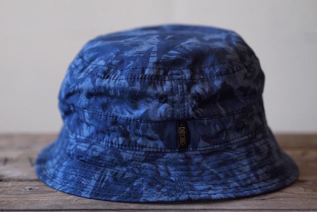 Decho Safari Bucket Hat Leaf Camo-3