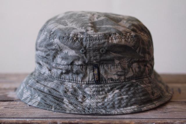 Decho Safari Bucket Hat Leaf Camo-4