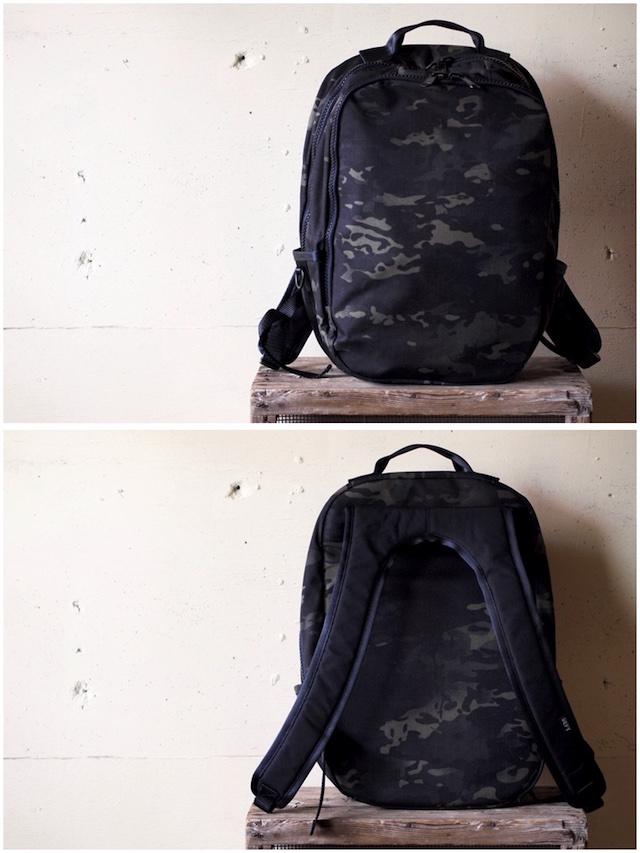 DFY BAGS Bucktown Pack Black Camo Corudra-3