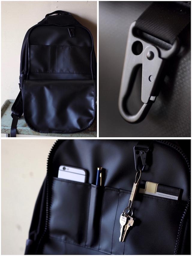 DEFY BAGS Bucktown Pack Cordura Black-8
