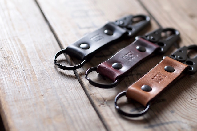 DEFY BAGS Horween Leather Key Chain-2