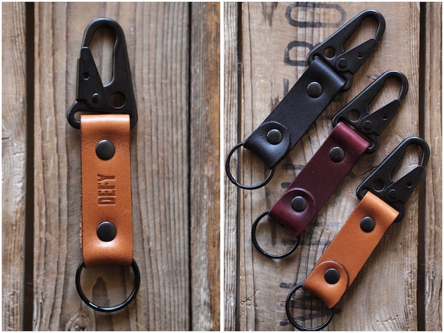 DEFY BAGS Horween Leather Key Chain-4