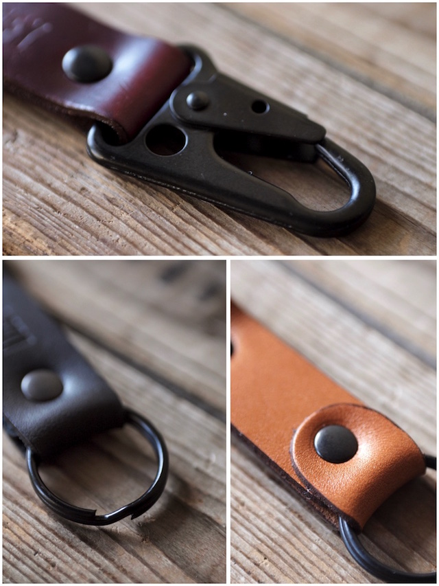 DEFY BAGS Horween Leather Key Chain-5