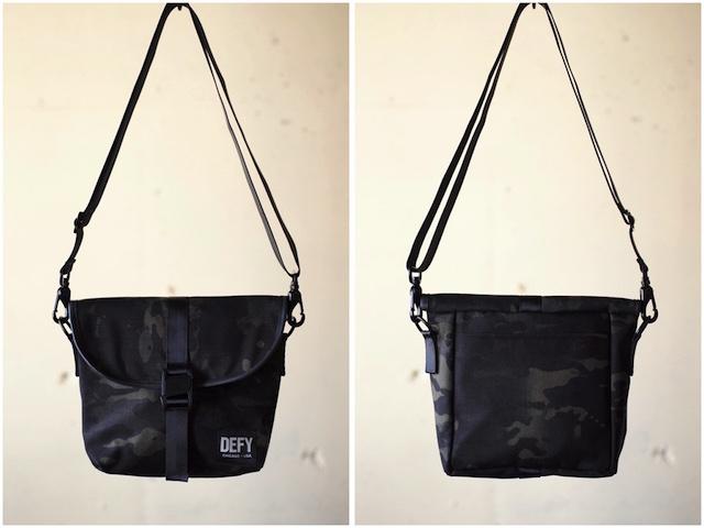 DEFY BAGS Venue Black CAMO Corudra-2