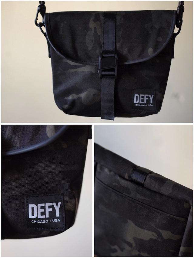 DEFY BAGS Venue Black CAMO Corudra-3