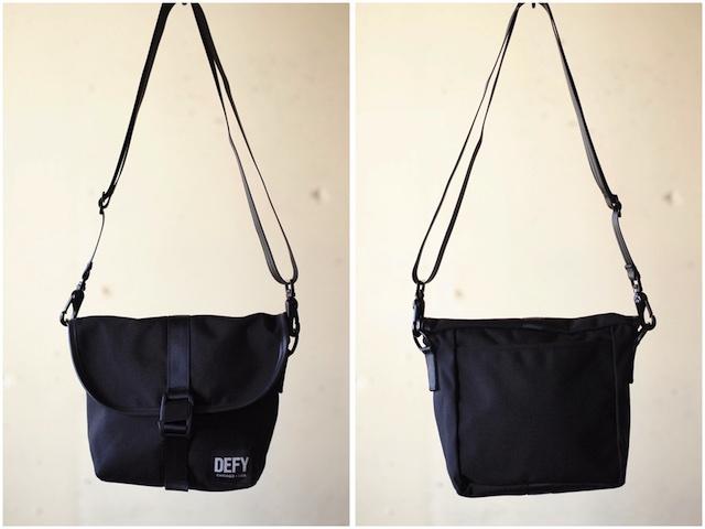 DEFY BAGS Venue Black Corudra-2