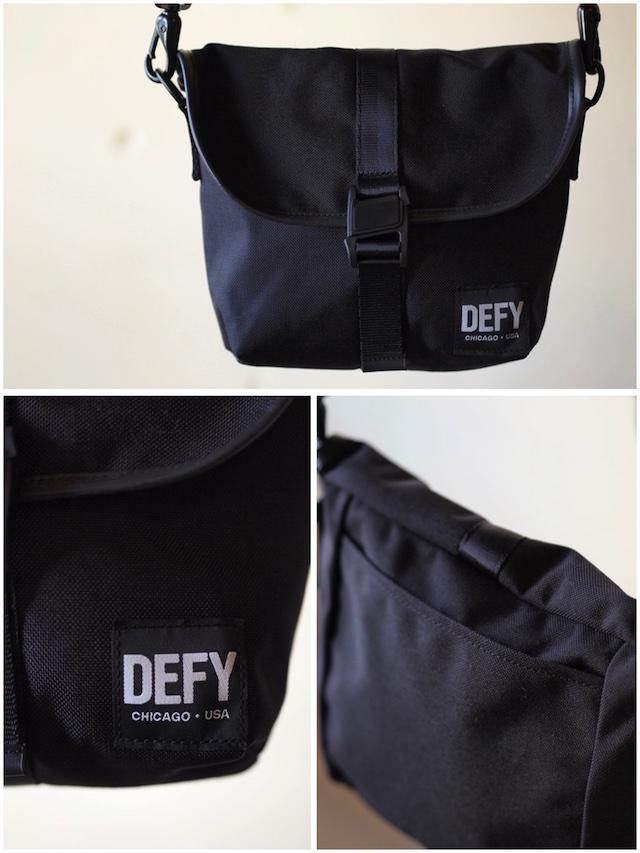 DEFY BAGS Venue Black Corudra-3