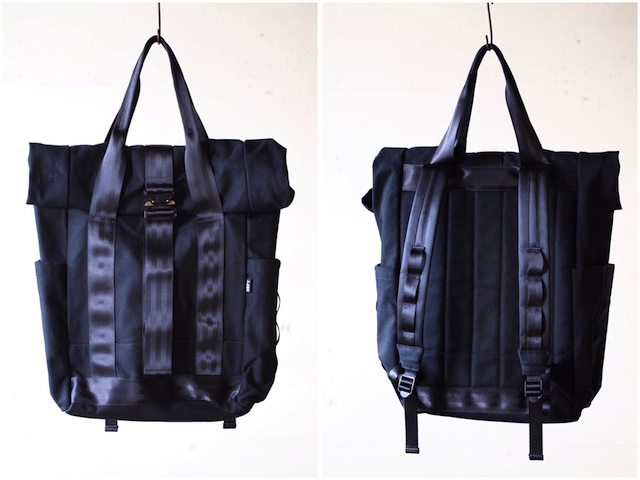 DEFY BAGS Ver Bockel Rolltop Pack Wax Canvas Black-4