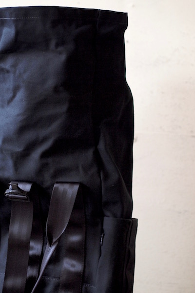 DEFY BAGS, VerBockel Rolltop Pack Wax Canvas Black-9