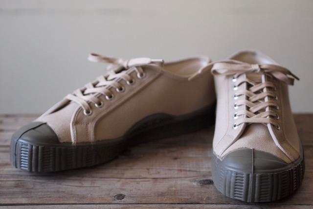 FERN Canvas Sneaker Army Type Low Cut SAND-2