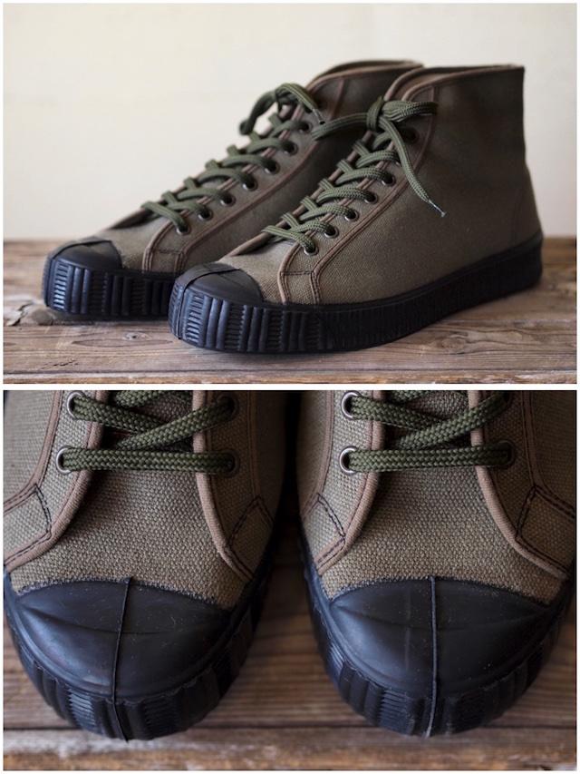 FERN Sneaker Army Model HC, Dark Olive-2