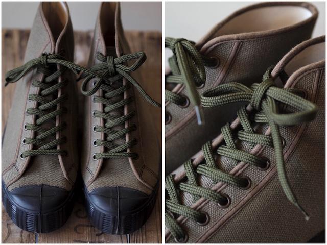 FERN Sneaker Army Model HC, Dark Olive-3
