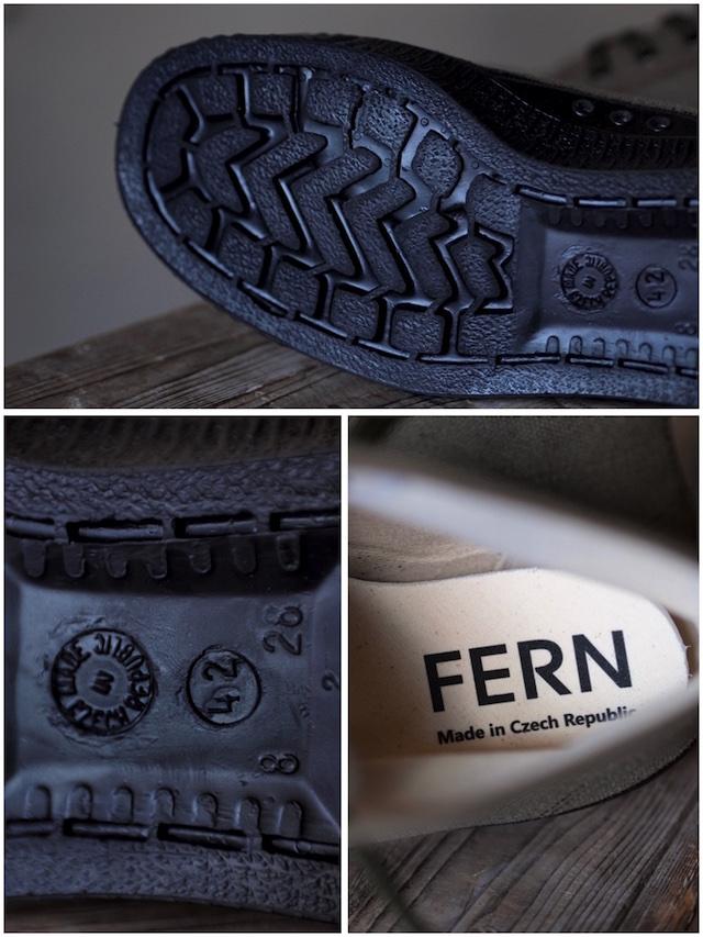 FERN Sneaker Army Model HC, Dark Olive-5