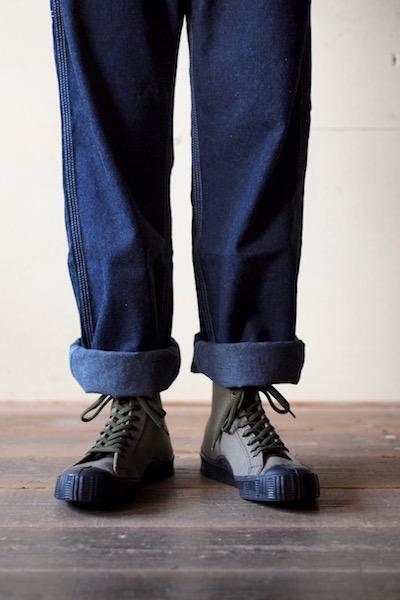 FERN Sneaker Army Model HC, Dark Olive-7