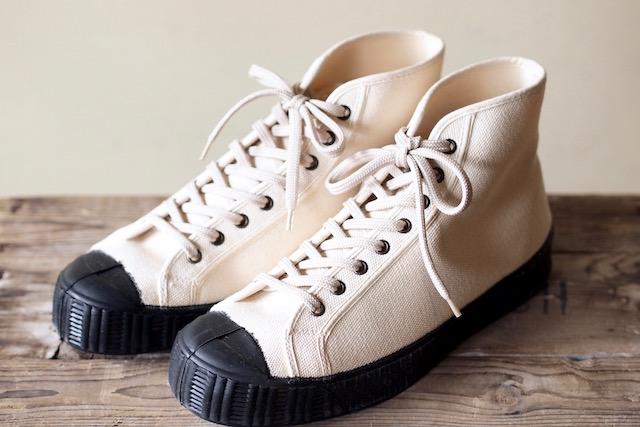FERN Sneaker Army Model HC, Off White-1
