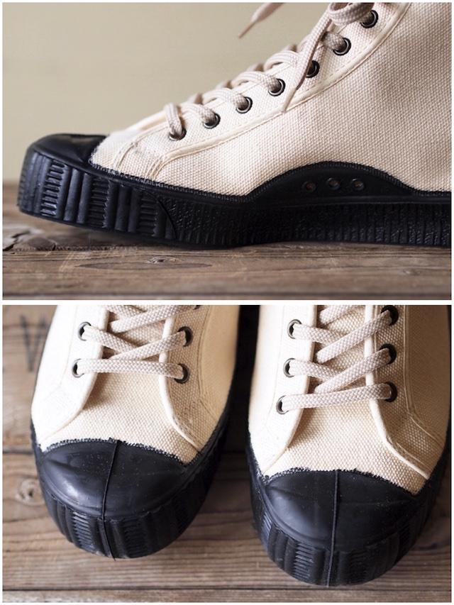 FERN Sneaker Army Model HC, Off White-3