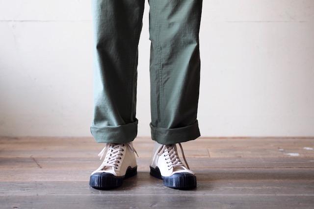 FERN Sneaker Army Model HC, Off White-5