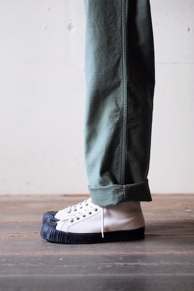 FERN Sneaker Army Model HC, Off White-6