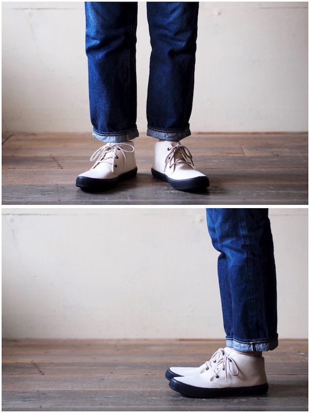 FERN Sneaker Chukka Model HC, Off White-5