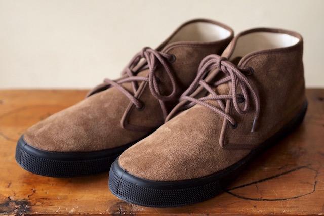 FERN Sneaker Chukka Model Suede, Date-1