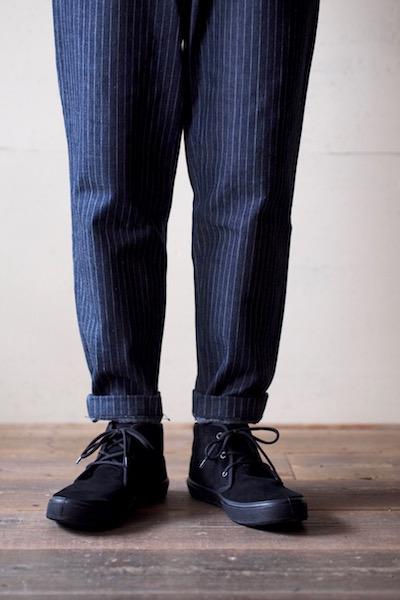 FERN Sneaker Chukka Model Suede, Nero-6