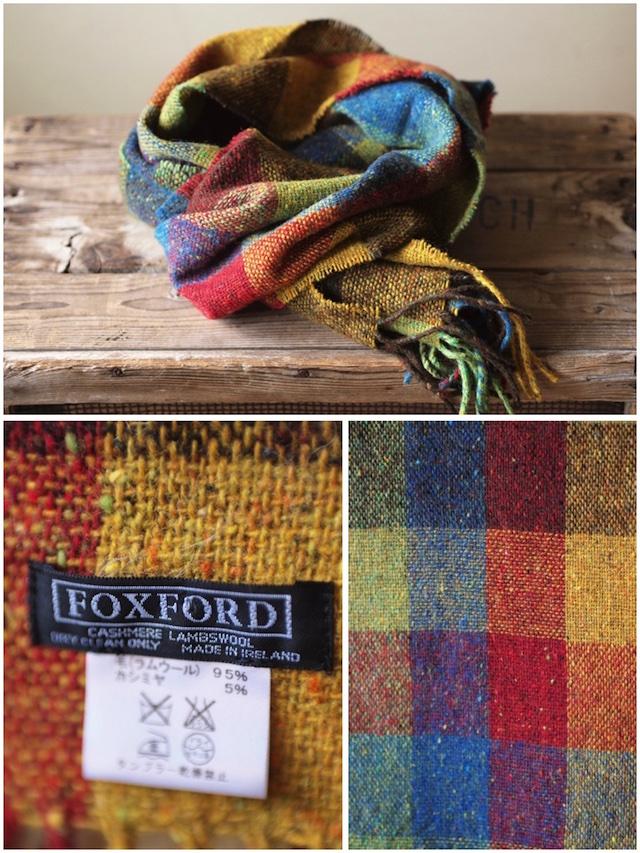 FOXFORD Donegal Tweed Scarf-3