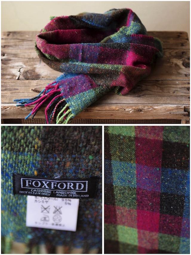 FOXFORD Donegal Tweed Scarf-4