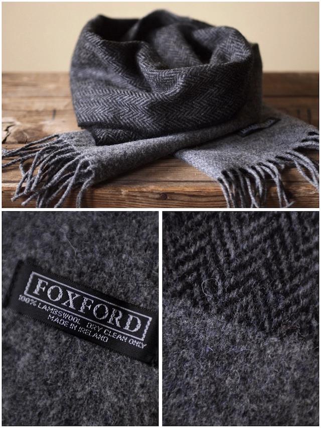 FOXFORD Lambswool Scarf-3