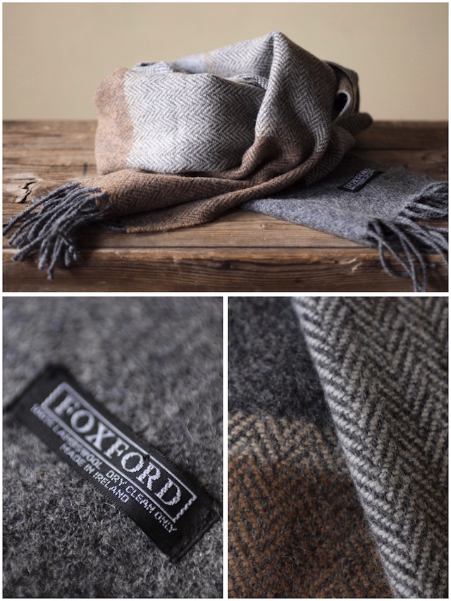 FOXFORD Lambswool Scarf-4