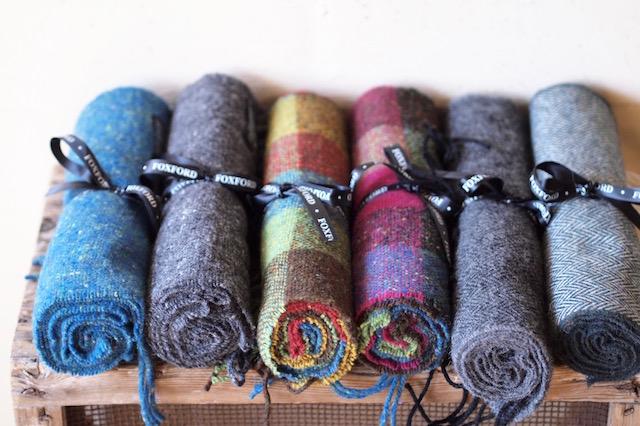 FOXFORD Wool Scarf-1