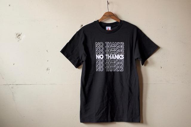 GMT (General Mean T-Shirts) No Thanks Black-2