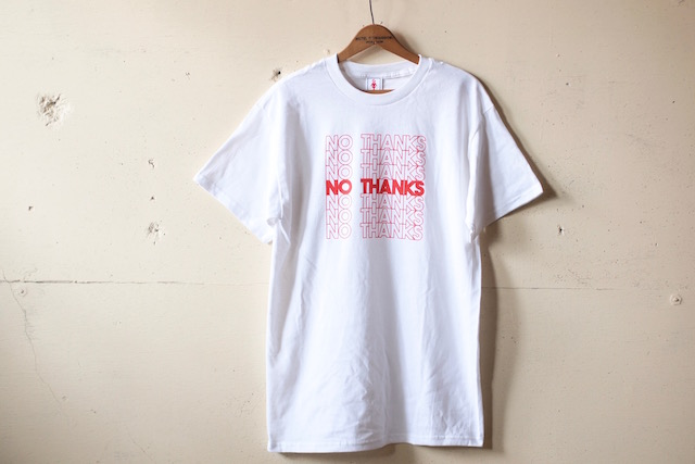 GMT (General Mean T-Shirts) No Thanks White-2