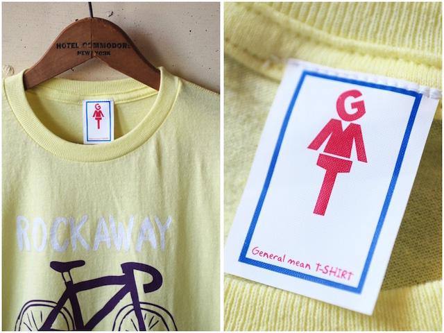 GMT Printed T-Shirt Rockaway Beach NY, Yellow-3