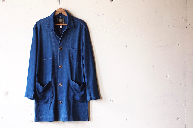 Gypsy&Sons Indigo P-Knit Atelier Coat-4