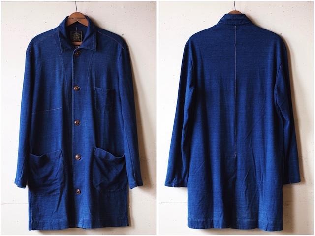 Gypsy&Sons Indigo P-Knit Atelier Coat-5