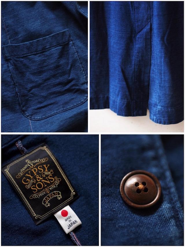Gypsy&Sons Indigo P-Knit Atelier Coat-8