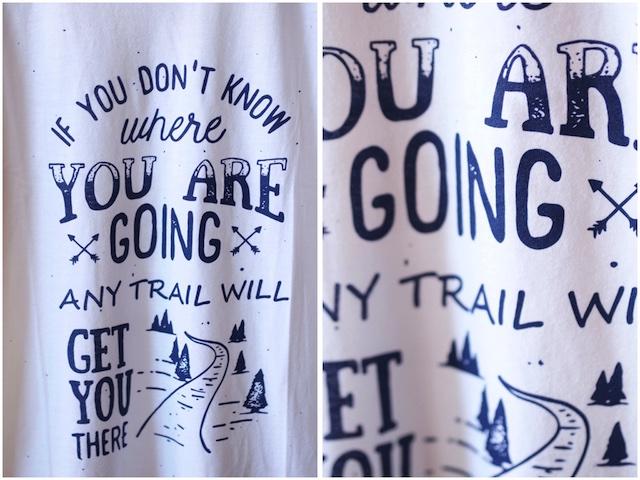 I HIKE USA Any Trail Will Do White-3