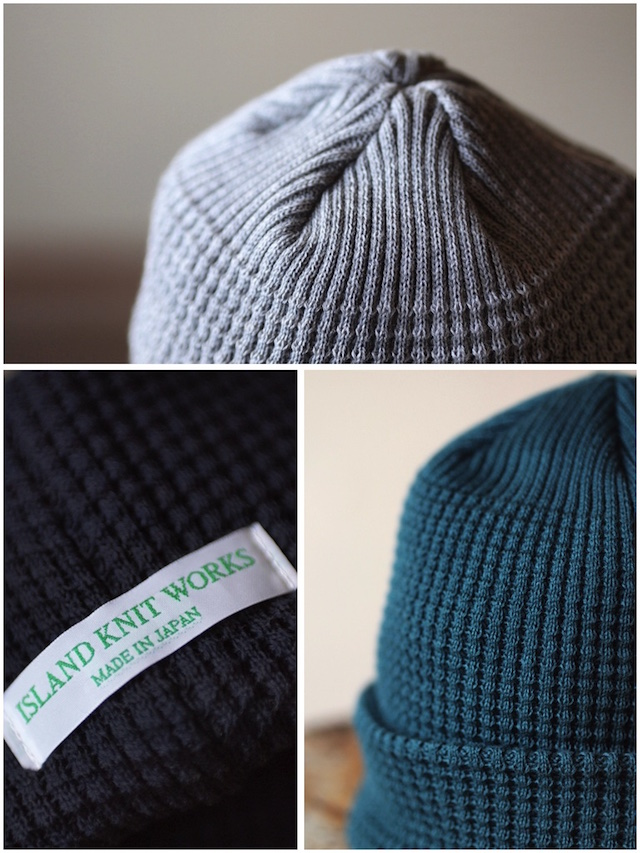 ISLAND KNIT WORKS, Andy Cotton knit Cap / IKW-A-53-2
