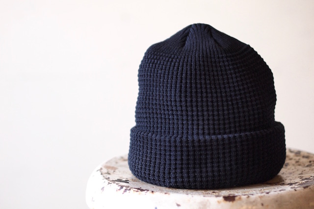 ISLAND KNIT WORKS, Andy Cotton knit Cap / IKW-A-53-Black