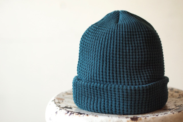 ISLAND KNIT WORKS, Andy Cotton knit Cap / IKW-A-53-Green