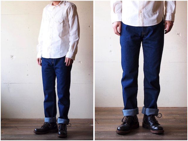 Levi's (リーバイス) 501 Rinse White Oak Denim Made in USA-2