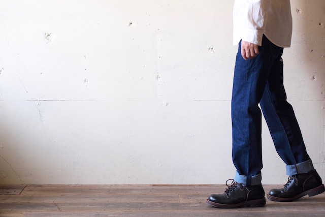 Levi's (リーバイス) 501 Rinse White Oak Denim Made in USA-3
